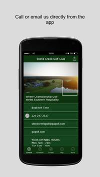 Stone Creek Golf Club poster