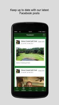 Stone Creek Golf Club apk screenshot