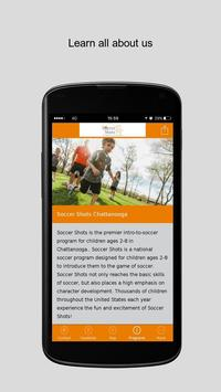 Soccer Shots Chattanooga apk screenshot