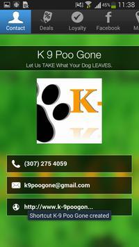 K 9 Poo Gone poster