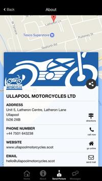 Ullapool Motorcycles Ltd screenshot 2