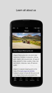 Ullapool Motorcycles Ltd poster