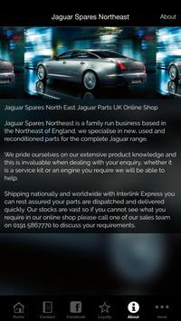 Jaguar Spares Northeast screenshot 2
