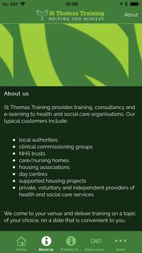 St Thomas Training Limited screenshot 1