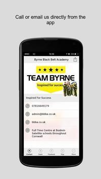 Byrne Black Belt Academy poster