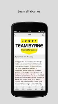 Byrne Black Belt Academy apk screenshot