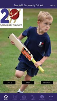 Twenty20 Community Cricket poster