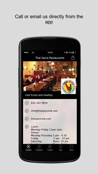 Thai Spice Restaurants apk screenshot