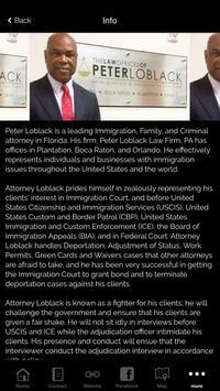 Peter Loblack Law Firm PA apk screenshot