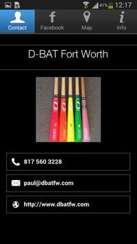 D-BAT Fort Worth poster