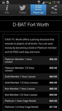 D-BAT Fort Worth apk screenshot