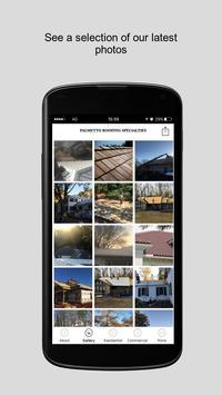 Palmetto Roofing Specialties screenshot 1