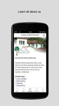 Palmetto Roofing Specialties screenshot 2