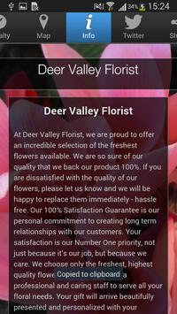 Deer Valley Florist apk screenshot