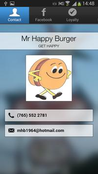 Mr Happy Burger poster