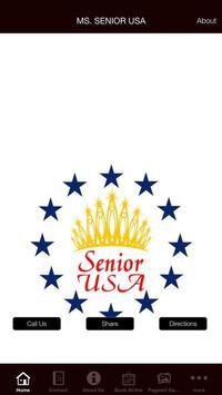 MS. SENIOR USA poster