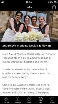 Supernova Wedding Design poster