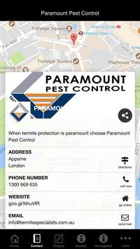 Paramount Pest Control screenshot 4