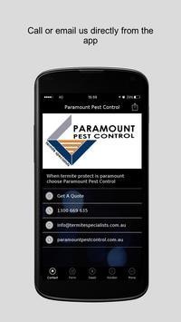 Paramount Pest Control poster