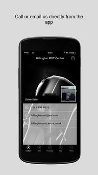 Hillington MOT Centre apk screenshot