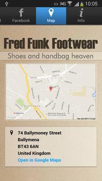Fred Funk Footwear screenshot 2
