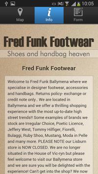 Fred Funk Footwear screenshot 3