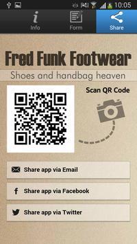 Fred Funk Footwear screenshot 4