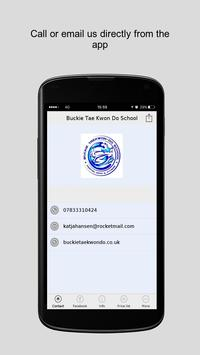 Buckie Tae Kwon Do School apk screenshot