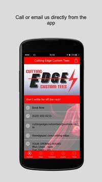 Cutting Edge Custom Tees poster