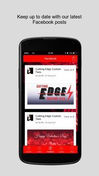 Cutting Edge Custom Tees apk screenshot
