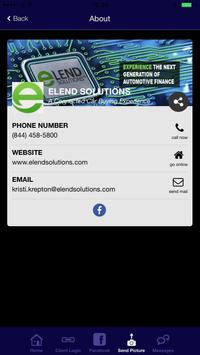 eLEND Solutions apk screenshot