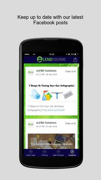 eLEND Solutions poster