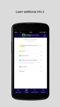 eLEND Solutions apk screenshot