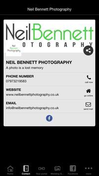 Neil Bennett Photography screenshot 4