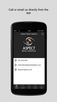 Aspect Retail Logistics poster