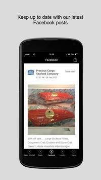 Precious Cargo Seafood Company apk screenshot
