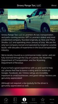 Snowy Range Taxi, LLC screenshot 2