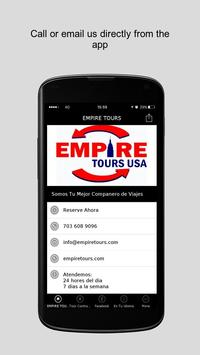 EMPIRE TOURS poster