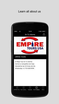 EMPIRE TOURS apk screenshot