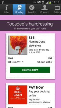 Toosdee's hairdressing screenshot 1