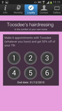 Toosdee's hairdressing screenshot 2
