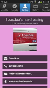 Toosdee's hairdressing screenshot 3