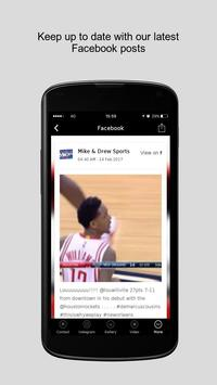 Mike & Drew Sports apk screenshot