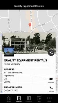 Quality Equipment Rentals screenshot 1
