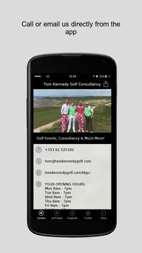 Tom Kennedy Golf Consultancy poster