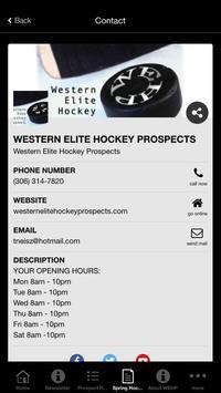 Western Elite Hockey Prospects screenshot 4