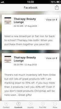 Thairapy Beauty Lounge poster