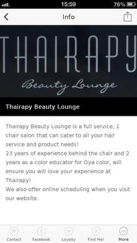 Thairapy Beauty Lounge screenshot 1