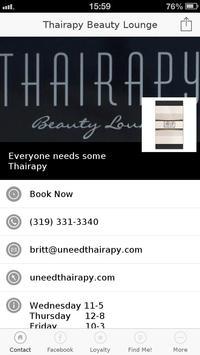 Thairapy Beauty Lounge screenshot 3