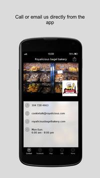 Royalicious bagel bakery screenshot 1